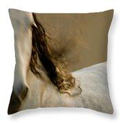 Americano 1 Throw Pillow by Catherine Sobredo