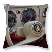 Amphicar 770 Car Boat Throw Pillow