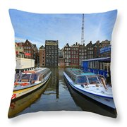 Amsterdam Central Throw Pillow