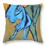 An Afternoon In The Park Throw Pillow