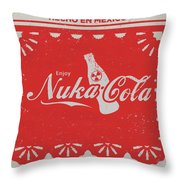 An Ice Cold Nuka Cola - Fallout Universe Throw Pillow