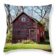 An Old Granary Throw Pillow