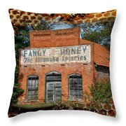 And Nature Goes On Throw Pillow
