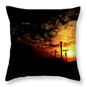 And On The Eighth Day Throw Pillow