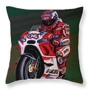 Andrea Dovisiozo Painting Throw Pillow