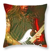Andreas Kisser, Sepultra Throw Pillow