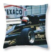 Andretti Monaco 78 Throw Pillow