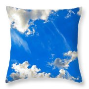 Angels Arriving Throw Pillow