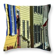 Annapolis Row Throw Pillow