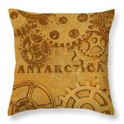 Antarctech Throw Pillow