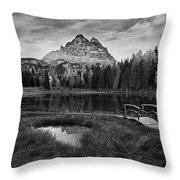 Antorno Lake II Throw Pillow