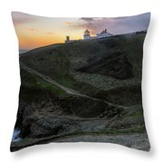 Anvil Point - England Throw Pillow