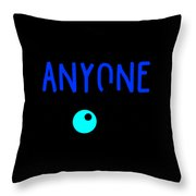 Anyone Can Be A Clown 3 Throw Pillow