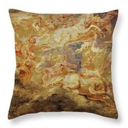 Apollo In The Chariot Of The Sun             Throw Pillow