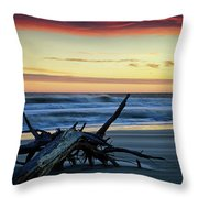 Approaching Tide Throw Pillow