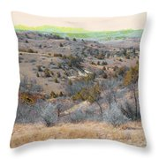 April Day Reverie Throw Pillow