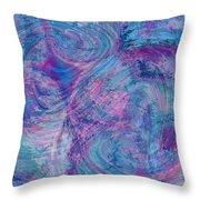 Aqueous Meditations #01 Throw Pillow