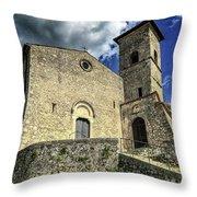 Aquino Chiesa Throw Pillow