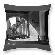 Arch And Shawdow Throw Pillow