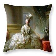 Archduchess Marie Antoinette  Throw Pillow