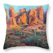 Arches National Park II Throw Pillow