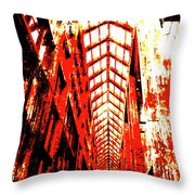 Architecture Interior 2 Throw Pillow