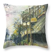 Argenta This Is Not Alices Restaurant Throw Pillow