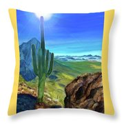 Arizona Heat Throw Pillow
