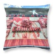 Arsenal Fc Stadium London Throw Pillow