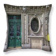 Art Deco Doorway Throw Pillow