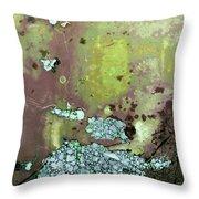 Art Print Abstract 33 Throw Pillow by Harry Gruenert