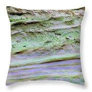 Art Print Cliff 16 Throw Pillow by Harry Gruenert