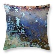 Art Print Patina 57 Throw Pillow by Harry Gruenert