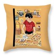 Arthur Avenue Throw Pillow