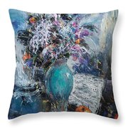 Articulated Melody Throw Pillow