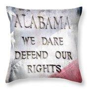 Audemus Jura Nostra Defendere Throw Pillow