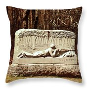 15th Us Infantry Throw Pillow