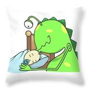 Peter And The Closet Monster, Kiss Throw Pillow