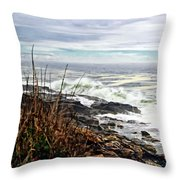 Blustry Passion Throw Pillow