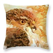 Prince Of The Skies Throw Pillow