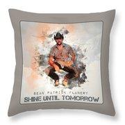 Cowboy Flanery Throw Pillow