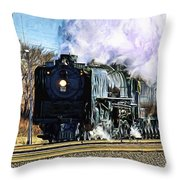 Up 844 Movin' On - Artistic Throw Pillow