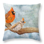 Together Above All Throw Pillow