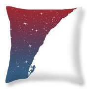 Night Climbing II Throw Pillow