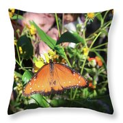 Spotted Treasure Throw Pillow
