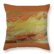 Winged Horse In The Sky Throw Pillow