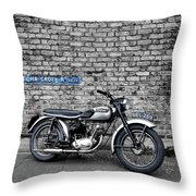 Triumph Tiger Cub Throw Pillow