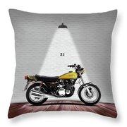 Kawasaki Z1 Throw Pillow