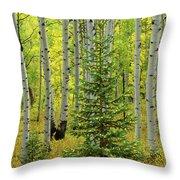 Aspen Christmas Tree Throw Pillow