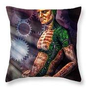 Assimilation Throw Pillow